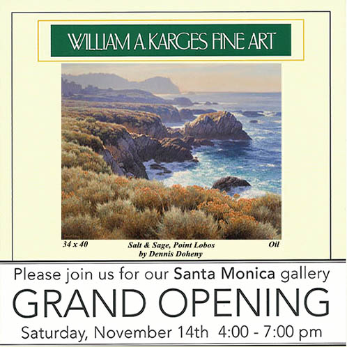 William A. Karges Fine Art - Bergamot Station Grand Opening